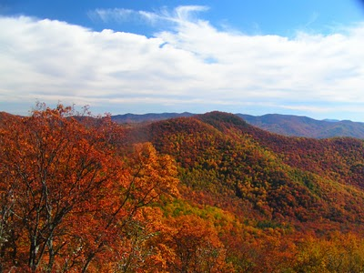 Mount Mitchell, NC  in Autumn Splendor