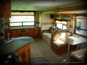 2011 Keystone Sprinter 297 RET travel trailer camper at Lerch RV, Milroy Pennsylvania RV Sales.