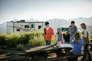 Family Camping Fun with RV