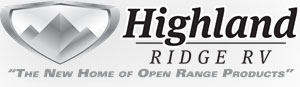 highland ridge rv company logo, parent company of open range rv