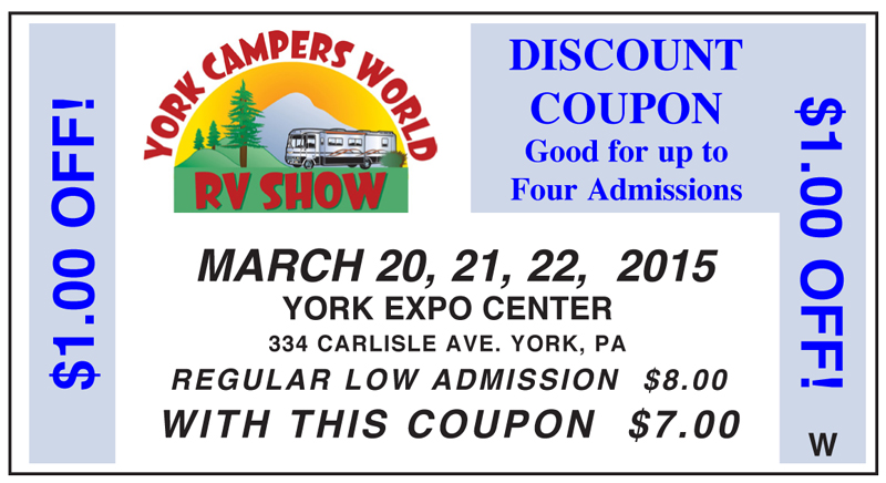 Ohio rv show discount coupons