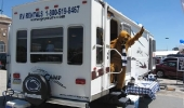 The PSU Nittany Lion knows the best place to rent an RV.